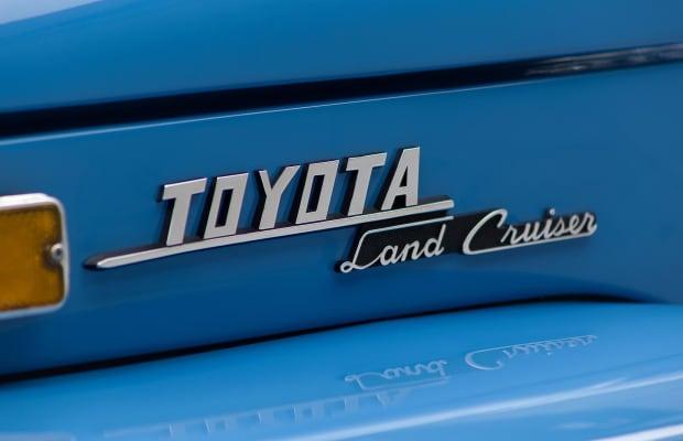Car Porn: 1974 Toyota Land Cruiser FJ45 Pick Up