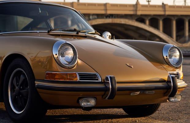 This Stunning Vintage Porsche Has The Midas Touch