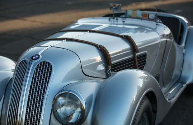 This 1939 BMW 328 Is Art on Wheels