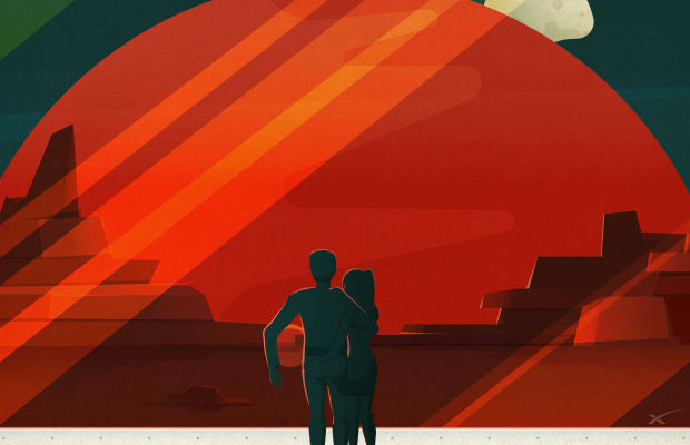 Elon Musk's SpaceX Released Amazing Tourism Posters For Mars