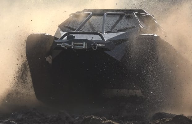 Your First Look At The Ripsaw EV2 Luxury Super Tank