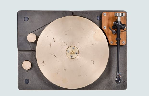 This Cast Iron And Bronze Turntable Is An Absolute Thing Of Beauty