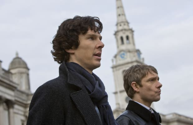 Here's An Excellent Clip From The 'Sherlock' Christmas Special With Benedict Cumberbatch