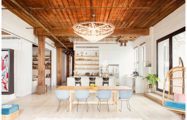 This Jaw-Dropping Work/Live Loft = Unbelievably Stylish