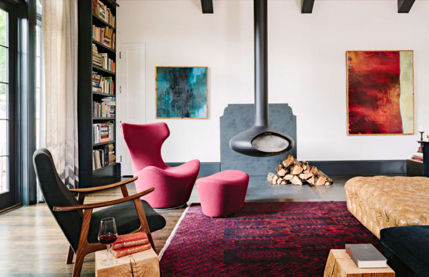 This Old Public Library Turned Incredible Home = ON POINT