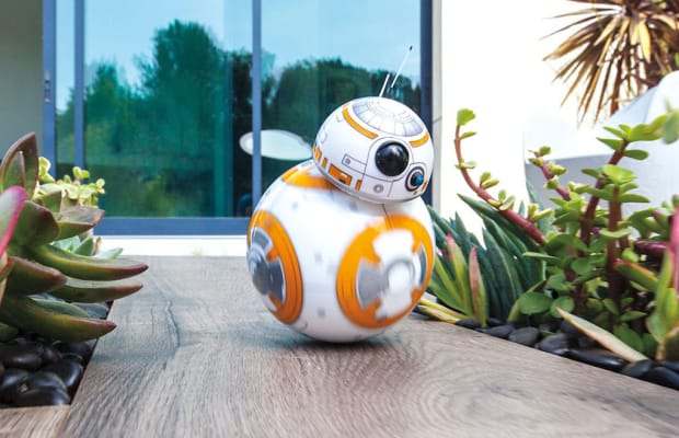 A Remote-Controlled BB-8 Toy From 'Star Wars' That's All Kinds Of Awesome