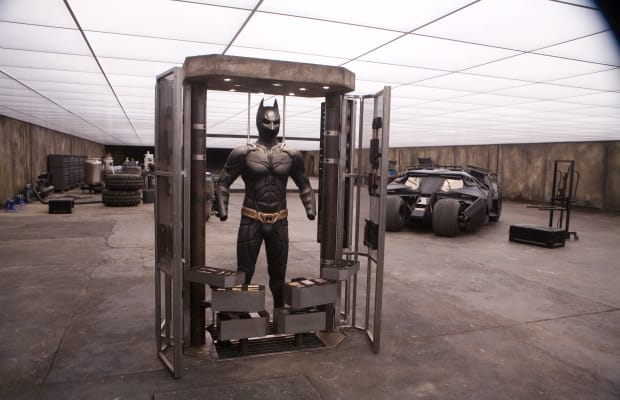 Awesome Dude Built Bruce Wayne's Garage From 'The Dark Knight' Under His Mansion