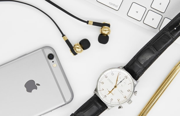 These Stylish Earphones Are Precision-Machined From Solid Brass