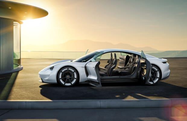 A Closer Look At The Futuristic Interior Of Porsche's All-Electric Tesla Crusher