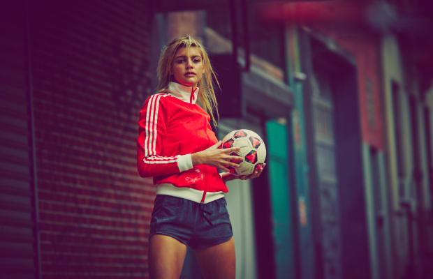 Gorgeous Soccer Themed Photo Set With Kelly Rohrbach
