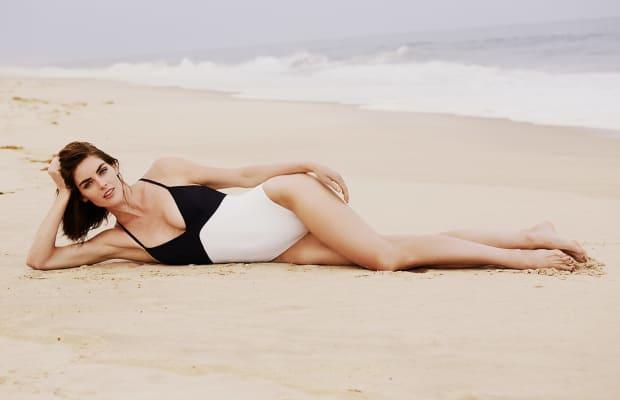 9 Sizzling Beachside Photos Of Supermodel Hilary Rhoda