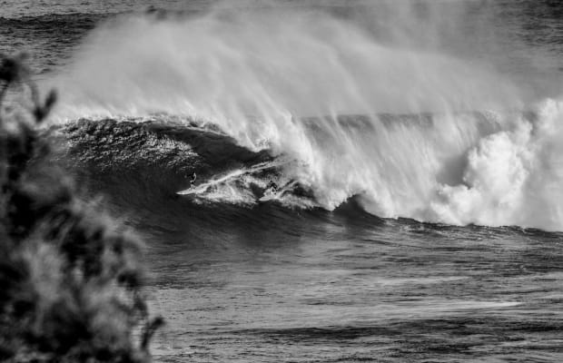Italian Opera and Surfing Combine In This Black & White Short Film