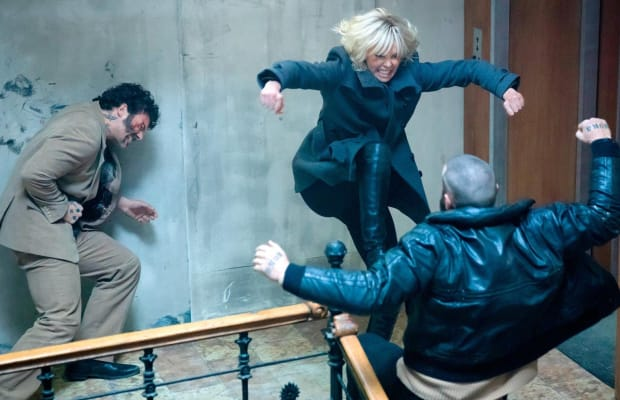 Watch Charlize Theron's Brutal Combat Training for 'Atomic Blonde'