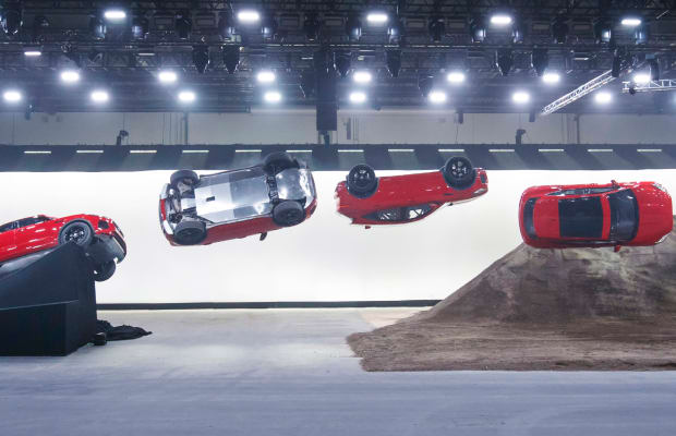 How Jaguar Brought Their Dangerous Barrel Roll Stunt From Concept to Reality