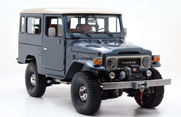 Watch How a Vintage Land Cruiser Gets Transformed Into a Modern Daily Driver