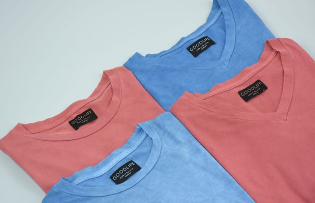 These American Trench x Goodlife Tees Have Been Hand-Dyed Using All-Natural Colorants
