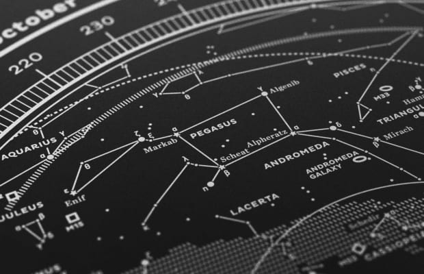 Dress Up Your Walls With These Beautiful Constellation Maps