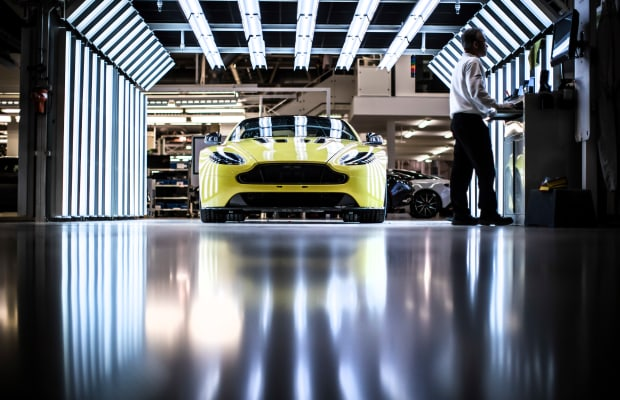 Step Inside Aston Martin's Stunning Gaydon Headquarters