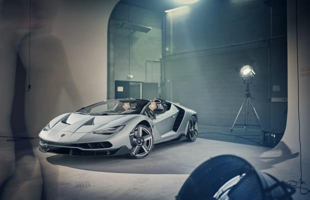 Go Behind-the-Scenes of a Gorgeous Lamborghini Centenario Photo Shoot