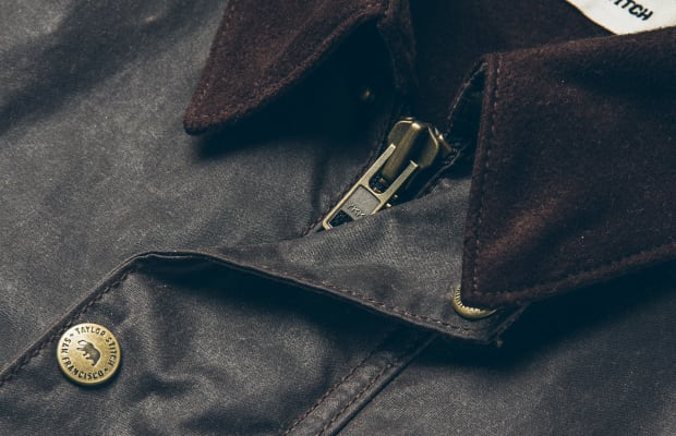 This Beeswaxed Canvas Jacket Can Handle Anything Autumn Throws Your Way