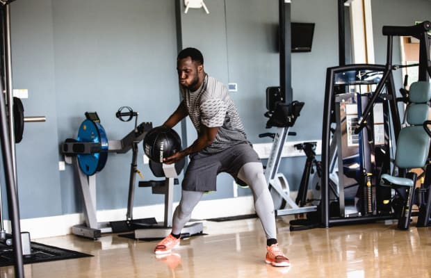 Romelu Lukaku's Gym Routine Will Make You Want to Train Harder