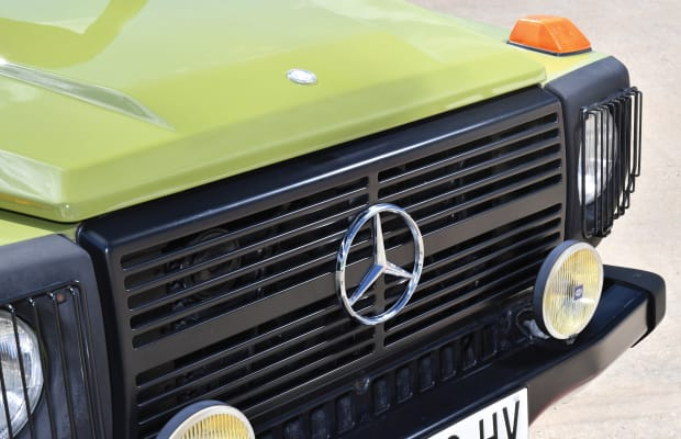 This 35 Year Old Mercedes-Benz G-Wagen Hasn't Aged a Day