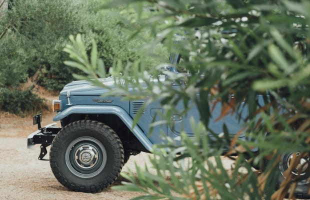 Feast Your Eyes on This Drool-Worthy Vintage Land Cruiser