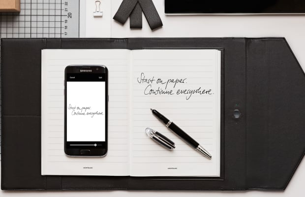 Montblanc Augmented Paper Easily Digitizes Your Handwritten Notes