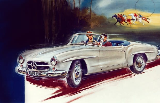 20 Vintage Mercedes-Benz Ads From the Golden Age of Motoring