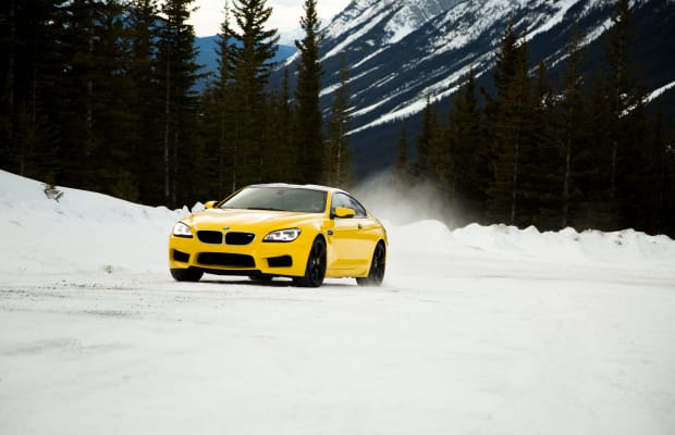 Stunning Footage of a BMW M6 Scorching the Icy Tundra of Canada