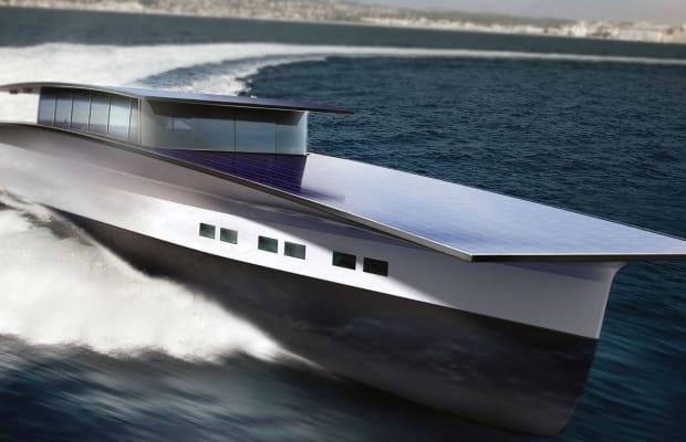 The $25 Million Solar-Yacht of the Future