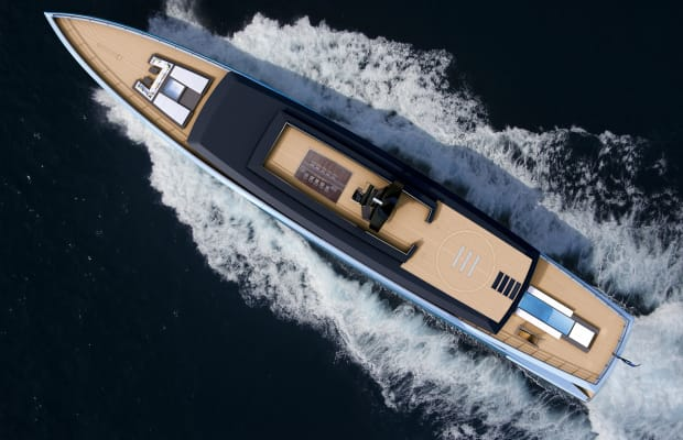 This Superyacht Is Practically a 5-Star Hotel on Water