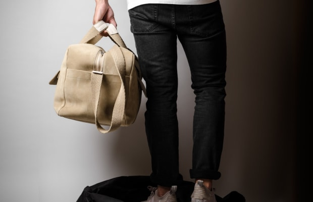 This Handsome Holdall is the Ideal Getaway Bag