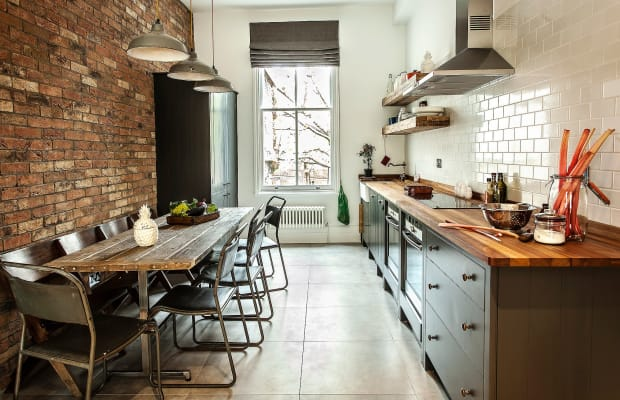 This Stunning Tiny Kitchen Does More With Less