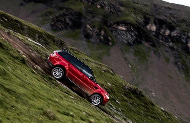 Watch a Range Rover Dominate Switzerland's Steepest Ski Run