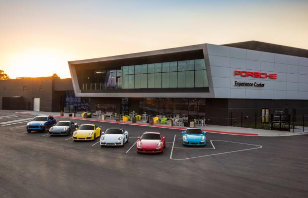 15 Photos Inside Los Angeles' Incredible New Porsche Playground