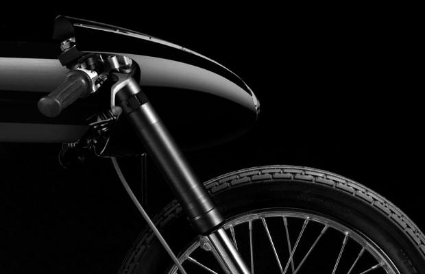 This Liquid Black Motorcycle Is Art on Wheels