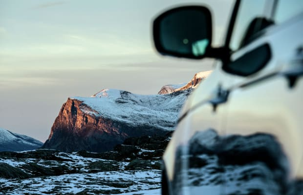 40 Incredible Photos of a Range Rover Tour Through Norway