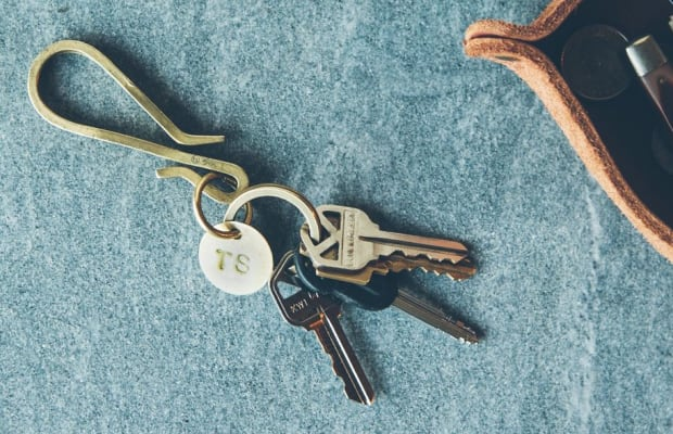 Upgrade Your EDC With This Brass Keyhook Designed to Minimize Bulk