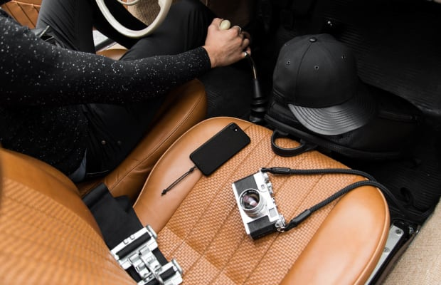 This Full Grain Leather iPhone Case is Flat-Out Stunning