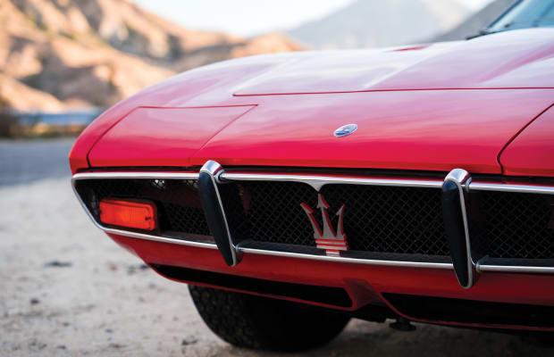 This 1972 Maserati Ghibli Stuns With Style