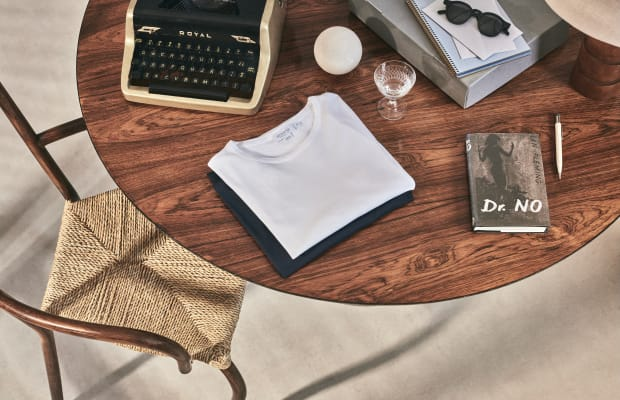 Sunspel Unveils Ian Fleming-Inspired Capsule Collection