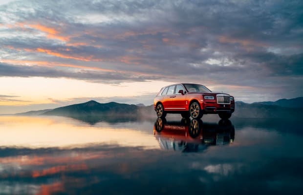 Rolls-Royce Debuts Cullinan SUV