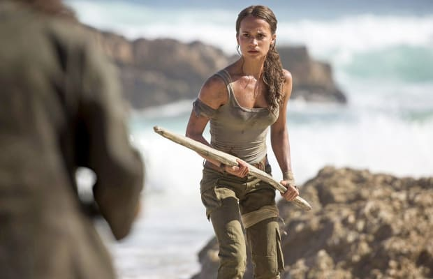 The 'Tomb Raider' Trailer Is, Uh, Really Something