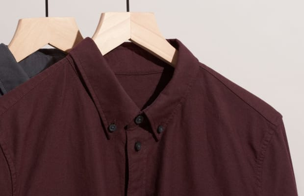Everlane's Japanese Oxford Shirt Is Back In Stock