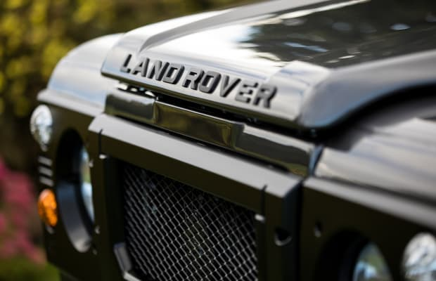 Feast Your Eyes on This Avant-Garde Custom Defender