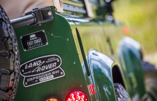 Barbour's Custom Land Rover Is a Thing of Beauty