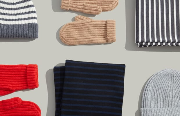 Go Cashmere With Your Cold Weather Accessories This Year