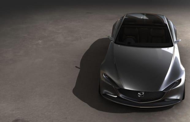 Mazda Reveals a Shockingly Gorgeous Concept Car
