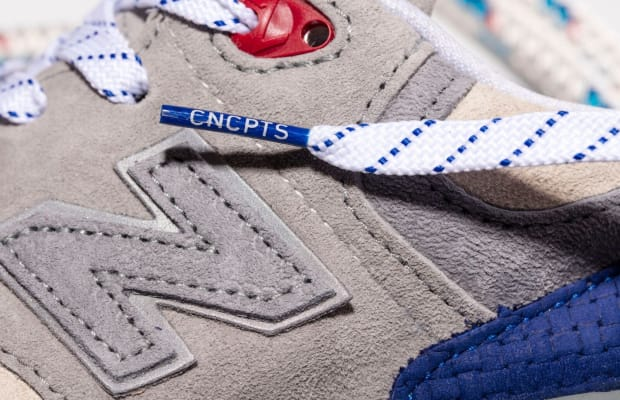 New Balance and Concepts Debut Sailing-Inspired Sneakers